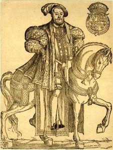 henry VIII à cheval 1550 - godet pub. 118209